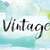 vintage colorful watercolor and ink word art stock photo © enterlinedesign