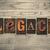 legenda · magasnyomás · klasszikus · fa · nyomtatás - stock fotó © enterlinedesign