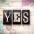 evet · eğitim · yazı · mektup · tahta - stok fotoğraf © enterlinedesign