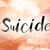 suicide colorful watercolor and ink word art stock photo © enterlinedesign