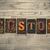 uygulama · kelime · ahşap · tip · yalıtılmış · bağbozumu - stok fotoğraf © enterlinedesign