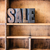 sale concept wooden letterpress theme stock photo © enterlinedesign