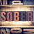 sober concept letterpress type stock photo © enterlinedesign