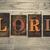rezar · palavra · escrito · vintage - foto stock © enterlinedesign