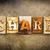 ajudar · couro · palavra · escrito · enferrujado - foto stock © enterlinedesign