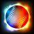 Flying · бейсбольной · мяча · желтый · изолированный · синий - Сток-фото © enterlinedesign