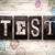 блоки · демонстрация · испытание · версия - Сток-фото © enterlinedesign