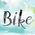 bike colorful watercolor and ink word art stock photo © enterlinedesign