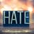 hate concept metal letterpress type stock photo © enterlinedesign
