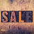 sale concept wooden letterpress type stock photo © enterlinedesign