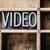 video · tip · kelime · yazılı · bağbozumu - stok fotoğraf © enterlinedesign