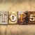 top 5 concept rusted metal type stock photo © enterlinedesign