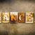 cancer concept letterpress leather theme stock photo © enterlinedesign