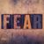 恐怖 · タイプ · 言葉 · 書かれた · ヴィンテージ - ストックフォト © enterlinedesign