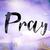 pray concept watercolor theme stock photo © enterlinedesign