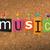 zene · közlöny · tábla · illusztráció · szó · írott - stock fotó © enterlinedesign