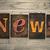 news concept wooden letterpress type stock photo © enterlinedesign