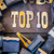 top 10 concept rusty type stock photo © enterlinedesign