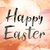 happy easter colorful watercolor and ink word art stock photo © enterlinedesign