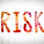 risk concept watercolor word art stock photo © enterlinedesign
