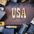 usa concept rusty type stock photo © enterlinedesign