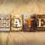 nefret · bağbozumu · tip · kelime · yazılı - stok fotoğraf © enterlinedesign