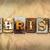 rozsdás · szó · írott · rozsdás · fém - stock fotó © enterlinedesign