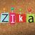 zika virus pinned ransom letters illustration stock photo © enterlinedesign