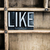 like concept metal letterpress word in drawer stock photo © enterlinedesign