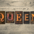 queen concept wooden letterpress type stock photo © enterlinedesign
