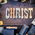 Cristo · oxidado · metal · tipo · nombre · escrito - foto stock © enterlinedesign