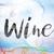 bor · festett · tinta · szó · vízfesték · fehér - stock fotó © enterlinedesign