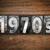 ahşap · paslı · Metal · harfler · yıl · yazılı - stok fotoğraf © enterlinedesign