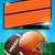 アメリカン · サッカー · ボウル · ゲーム · 実例 · フットボールの競技場 - ストックフォト © enterlinedesign