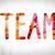 team concept watercolor word art stock photo © enterlinedesign