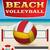 beach volleyball tournament flyer illustration stock photo © enterlinedesign