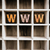 www concept wooden letterpress type in drawer stock photo © enterlinedesign