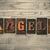 engelen · woord · geschreven · vintage · type - stockfoto © enterlinedesign