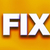 fix concept colorful word art stock photo © enterlinedesign