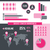 breast cancer awareness infograph illustration stock photo © enterlinedesign