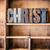 christ concept wooden letterpress theme stock photo © enterlinedesign