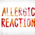 allergic reaction concept painted watercolor word art stock photo © enterlinedesign