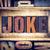 joke concept letterpress type stock photo © enterlinedesign