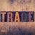 trade concept wooden letterpress type stock photo © enterlinedesign