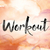 workout colorful watercolor and ink word art stock photo © enterlinedesign