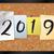 2019 bulletin board theme illustration stock photo © enterlinedesign