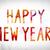happy new year concept watercolor word art stock photo © enterlinedesign