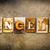 bíblia · couro · palavra · escrito · enferrujado - foto stock © enterlinedesign