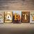 banket · woord · hout · geschreven · vintage - stockfoto © enterlinedesign