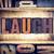 laugh concept letterpress type stock photo © enterlinedesign